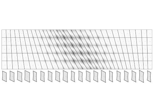 parametric textile facade
